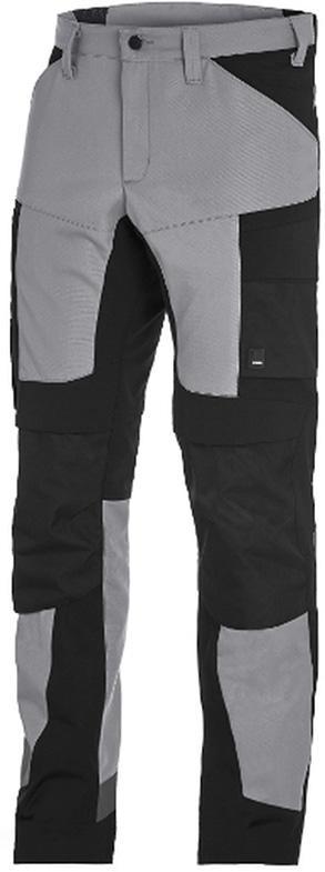 Odzież robocza Spodnie robocze Leo roz. 48, szare/czarne FHB
