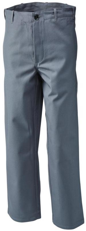 Odzież ochronna Spodnie spawalnicze, rozmiar 48, 360 g/m², szare g/m²,