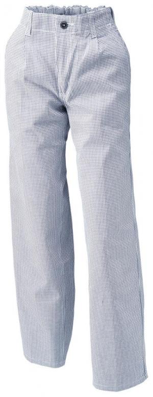 Odzież robocza Spodnie szefa kuchni/piekarza 1353 910, roz. 52, niebieskie/białe