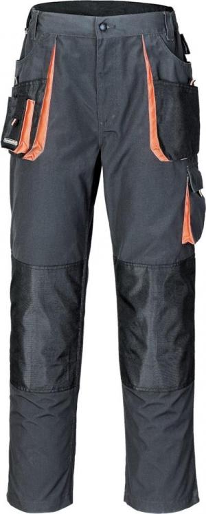 Odzież robocza Spodnie z paskiem w talii 3230, rozmiar 60, ciemnoszare 3230,