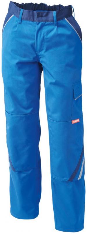 Odzież robocza Spodnie z paskiem w talii Highline, rozmiar 56, królewski błękit/navy błękit/navy