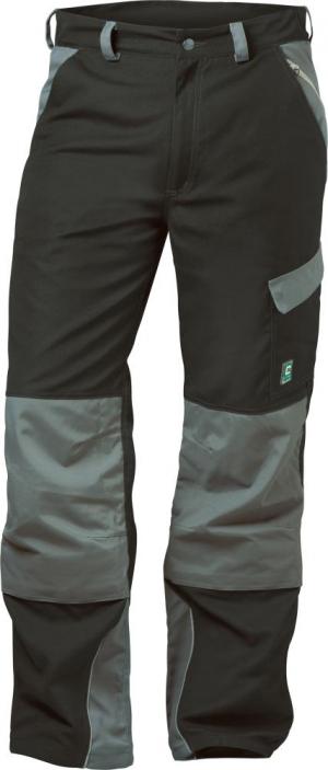Odzież robocza Spodnie z paskiem w talii Tottenham, rozmiar 60, czarne/szare czarne/szare