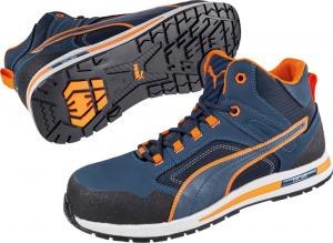 Ochrona stóp Sznurowane buty 633140, S3, SRC, HRO, roz. 46 Puma
