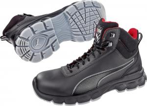 Ochrona stóp Sznurowane buty CONDOR BLACK MID, S3, rozmiar 39 Puma black