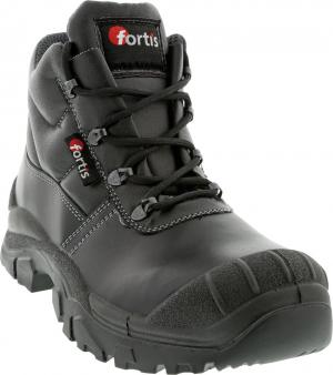 Ochrona stóp Sznurowane buty Mjöll S3, rozmiar 44, czarne, FORTIS buty