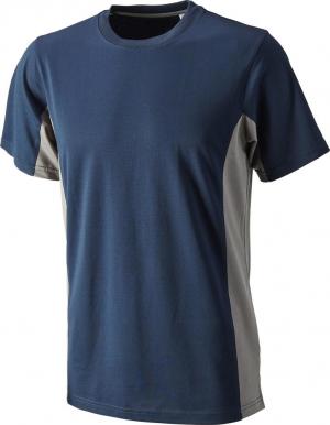 T-Shirt T-shirt Function Cont. rozmiar 2XL, granatowo-szary 2xl,