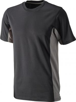 T-Shirt T-shirt Function Cont., rozmiar L, czarno-szary cont.,