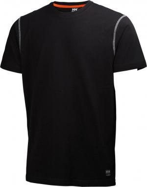 T-Shirt T-shirt Oxford, rozmiar XL, czarna czarna,
