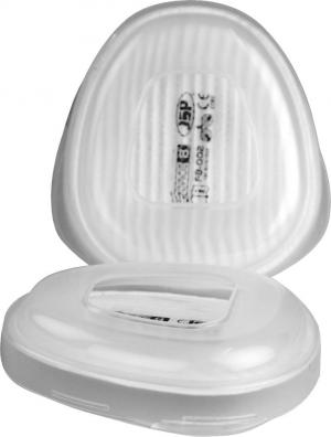 Ochrona dróg oddechowych Ustawienie filtra wstępnego F8