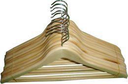 Bez kategorii Wieszaki drewniane na odzież, kątowe drewniane