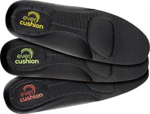 Ochrona stóp Wkładki do butów Evercushion Fit low, czerwona, roz. 45