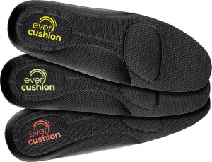 Ochrona stóp Wkładki do butów EvercushionFit high, żółta, roz. 44