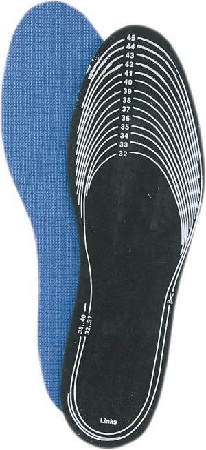 Ochrona stóp Wkładki, węgiel aktywny, rozmiar 32 – 47, FORTIS –