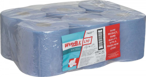 Bez kategorii WYPALL L10 Chusteczki higieniczne 18, 5x38cm niebieskie 525 szt. 5x38cm