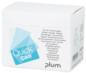 Bez kategorii Żel na oparzenia QuickCoolBox z 18 saszetkami kategorii