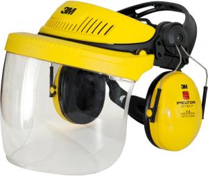 Odzież ochronna Zestaw ochronny głowy i słuchu G500, żółty