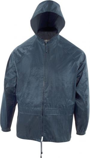 Odzież przeciwdeszczowa Zestaw przeciwdeszczowy (spodnie/ kurtka), rozmiar XL, niebieski kurtka