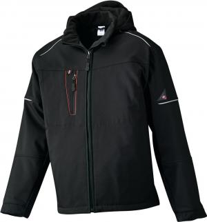 Kurtki i płaszcze Zimowa kurtka softshell 1869 572, rozmiar XL, czarna